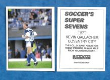 Coventry City Kevin Gallacher 27
